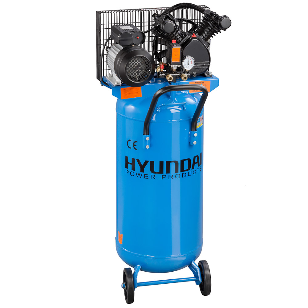 Hyundai HYD-100LA/V2, 8bar, 240V/2200W Álló Olajos kompresszor