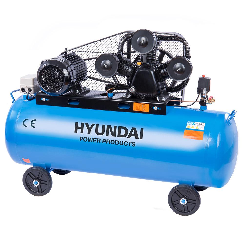 Hyundai HYD-300L/V3, 10bar,380V/7500W Olajos Kompresszor