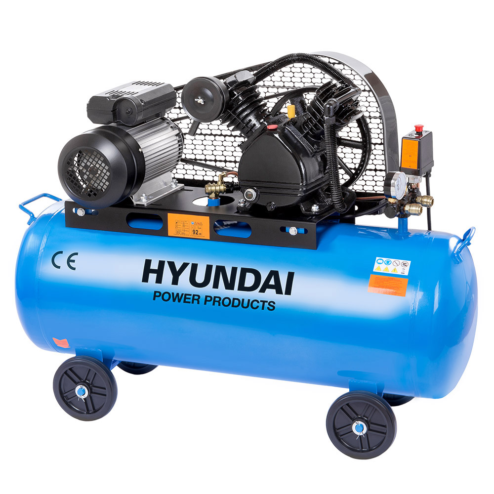 Hyundai HYD-100L/V2, 12,5bar 240V/2200W Olajos Kompresszor